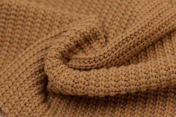 Big knit camel