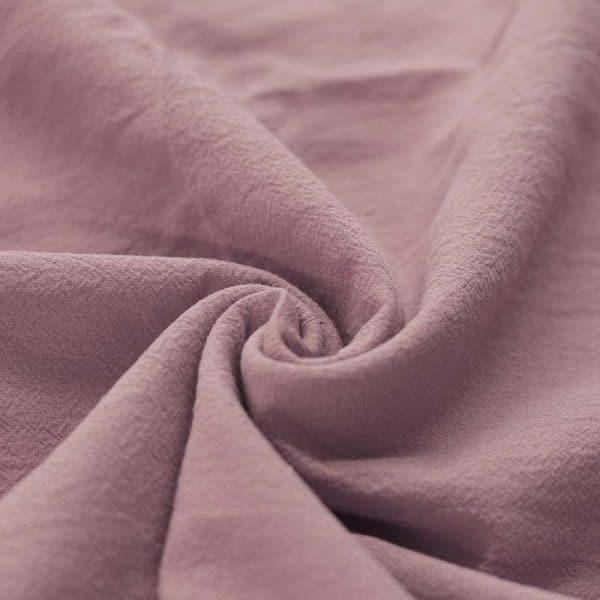 Washed cotton oud rosé
