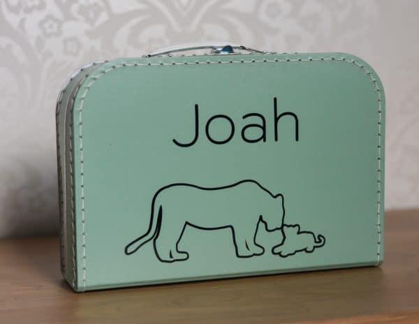Kinderkoffertje geboortekoffertje