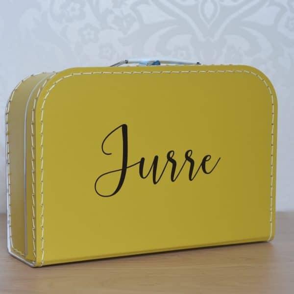 Kinderkoffertje met naam Mini Fem