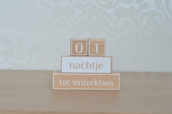 Aftelblokken Sinterklaas Mini Fem